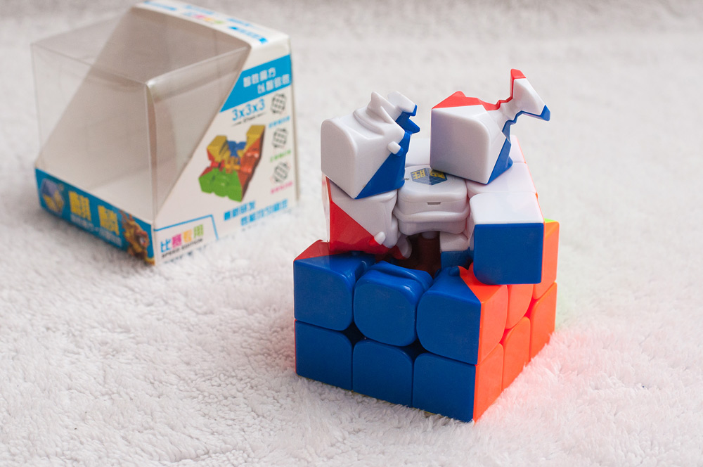 Обзор кубика Yuxin Qilin