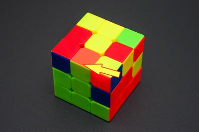 Установка реберных кубиков в кубике 3х3
