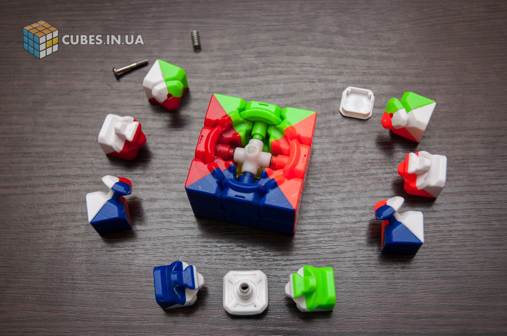 Разборка и чистка кубика 3х3. Шаг 3