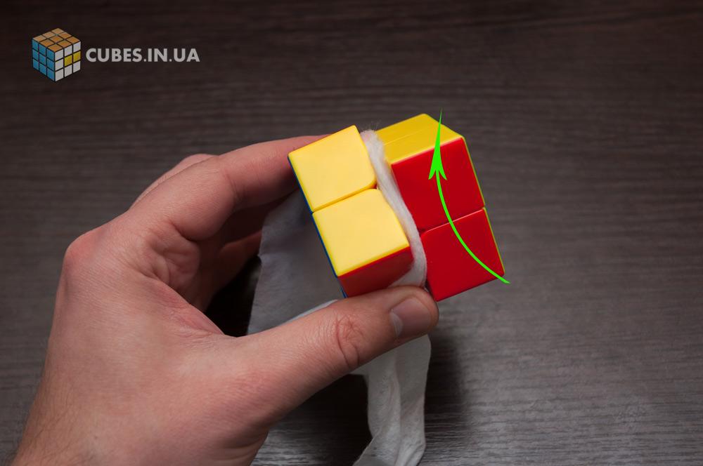 Чистка кубика 2x2