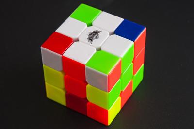 Сборка креста в кубике 3х3