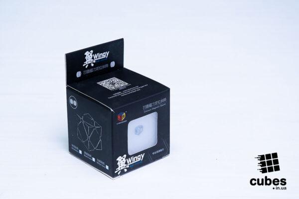 Xman WINGY SKEWB Magnetic (белый пластик)