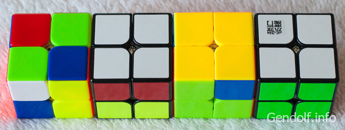 Як скласти кубик Рубіка 2 на 2