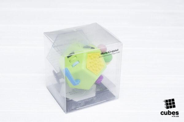 Fidget куб v2 (большой) салатовый 12 сторон