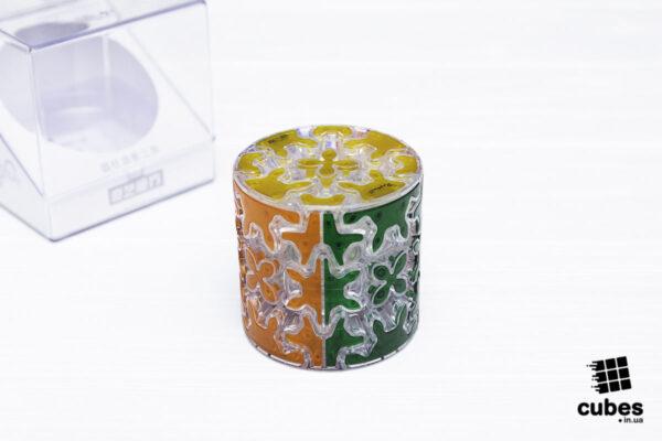 Головоломка QiYi Gear Cylinder прозрачная