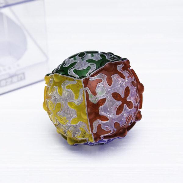 Головоломка QiYi Gear Sphere прозрачная