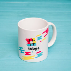 Чашка с логотипом cubes.in.ua