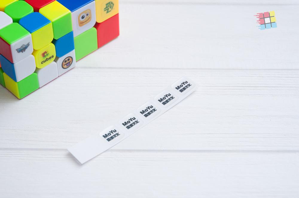 Наклейки для кубика Рубика MoYu