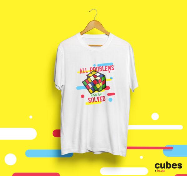 Футболка для спидкубера cubes.in.ua