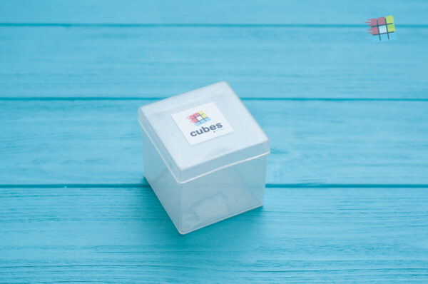 Пластиковый бокс для кубика Рубика