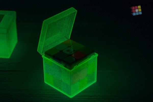 Пластиковый бокс для кубика Рубика (светится)