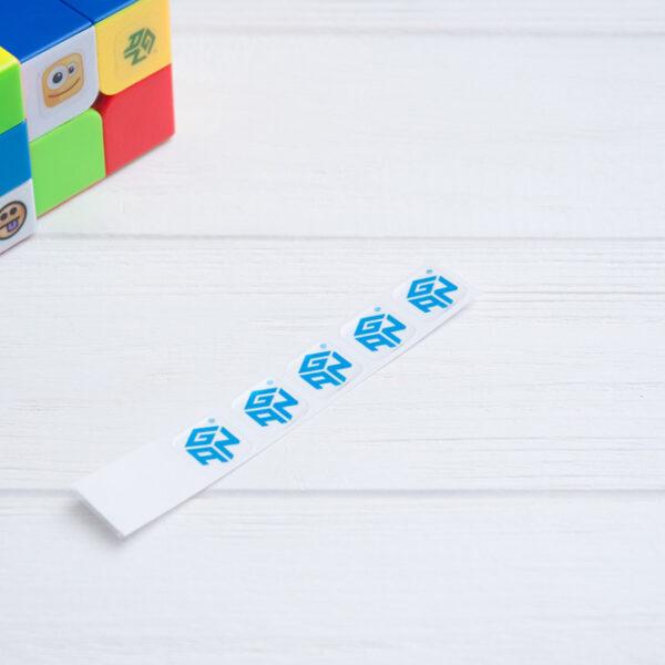 Наклейки с логотипом GAN