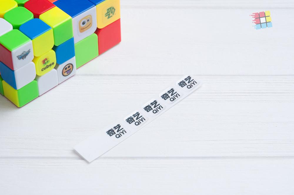 Наклейки с логотипом QiYi
