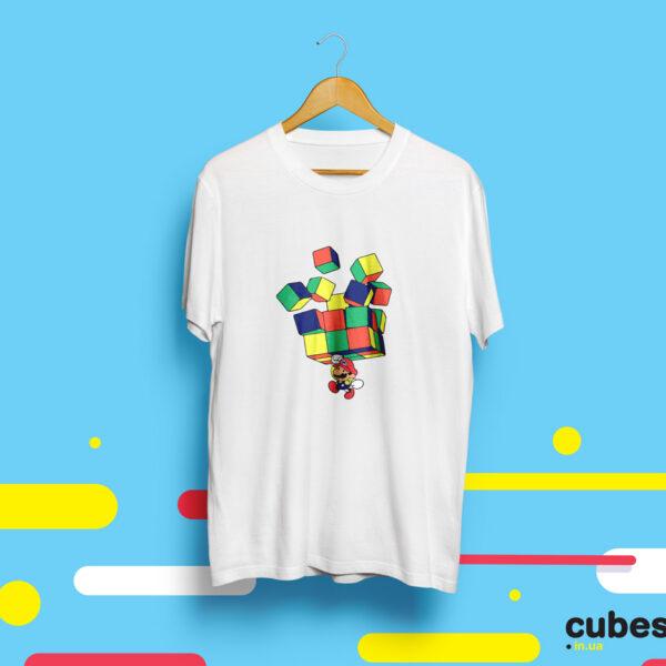 Футболка с кубиком Рубика