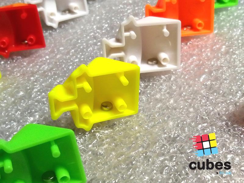 Как сделать магнитный кубик 3х3