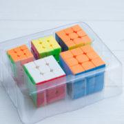 Набор мини кубиков MF 3х3 5шт.