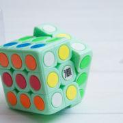 Кубик Рубика Yuandian 3x3 салатовый