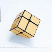 Зеркальный куб meilong 2x2 (золото)