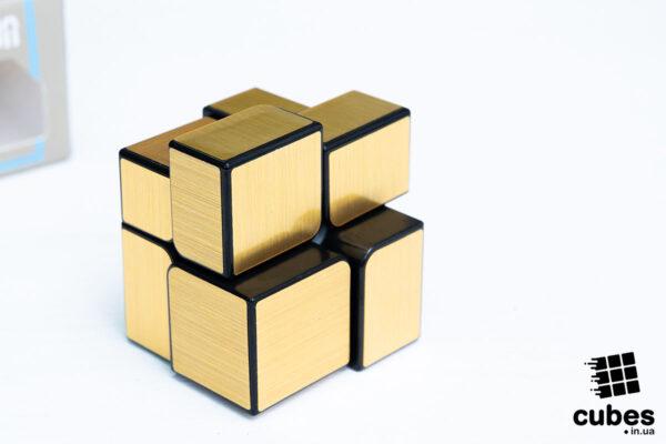 Зеркальный куб YJ 2x2 (золото)