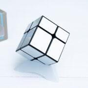 Зеркальный куб meilong 2x2 (серебро)