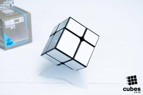 Зеркальный куб YJ 2x2 (серебро)