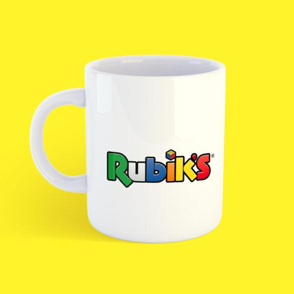 Чашка кубик Рубика