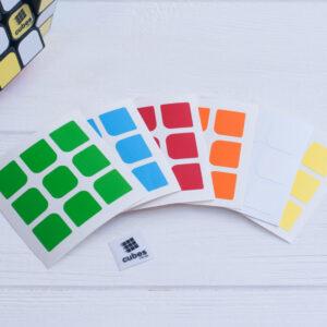Стикеры для кубика 3х3