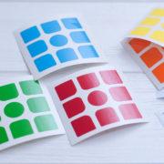 Стикеры для кубика GAN