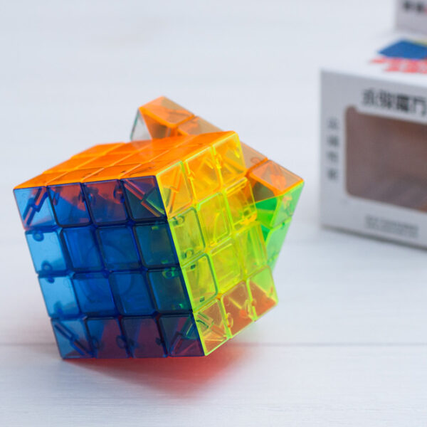 Кубик Yusu 4x4 прозрачный