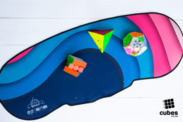 Коврик для спидкубинга QiYi Flying Cup Mat синий