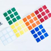 стикеры для кубика 3х3 cubes v2