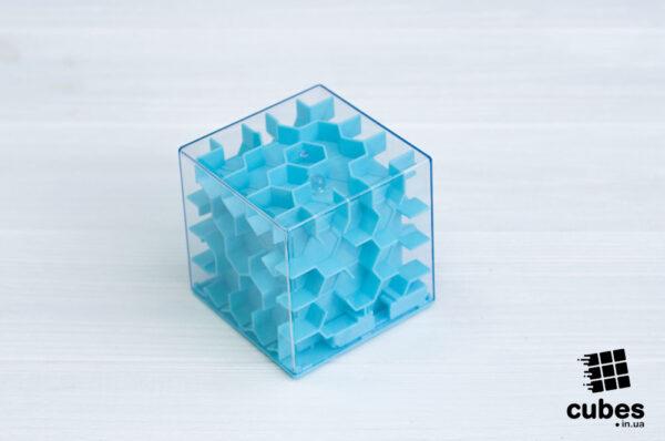 Лабиринт (игрушка-копилка) голубой
