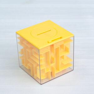 Лабиринт (игрушка-копилка) желтый