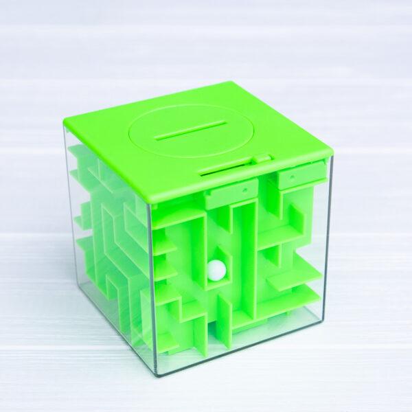 Копилка-лабиринт (зеленая)