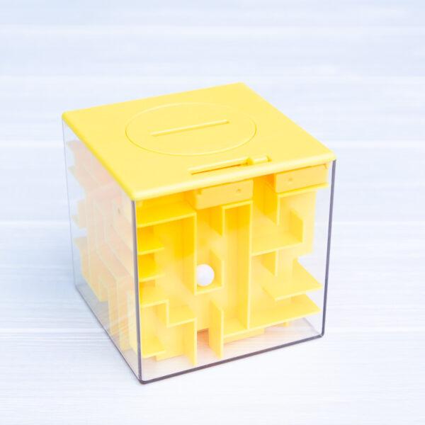 Копилка-лабиринт (желтая)