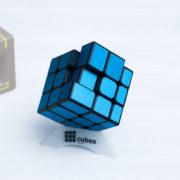 INEQUILATERAL куб с матовыми наклейками (синий)