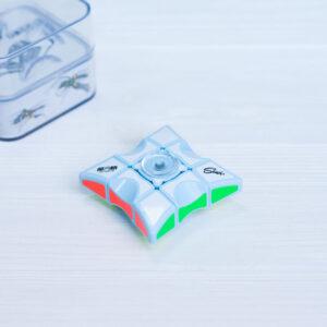 QiYi спиннер 1х3х3 (голубой пластик)