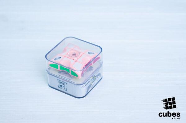 QiYi спиннер 1х3х3 (розовый пластик)