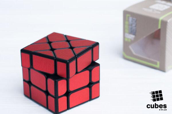 Ice Brushed Fisher куб (красный)