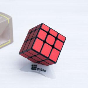 INEQUILATERAL куб с матовыми наклейками (красный)