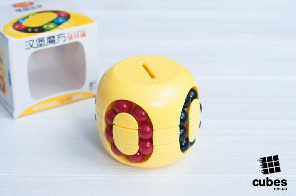 Головоломка-копилка Burger (yellow)