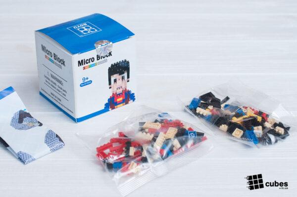 Микро-конструктор «Супермен»