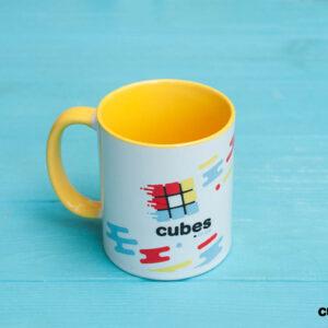 Чашка CUBES.IN.UA (желтая)