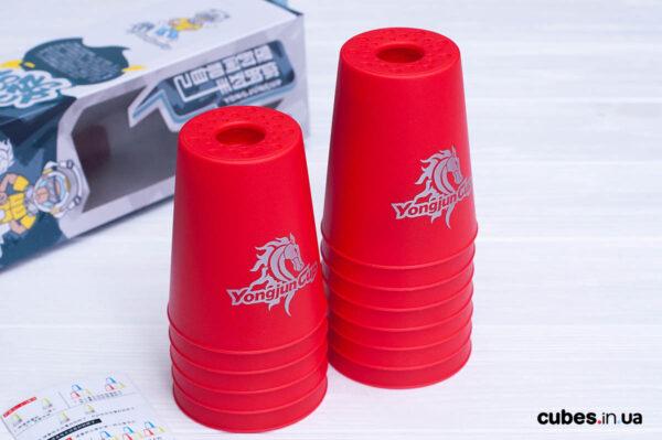 Стаканчики для капстекинга (красные)
