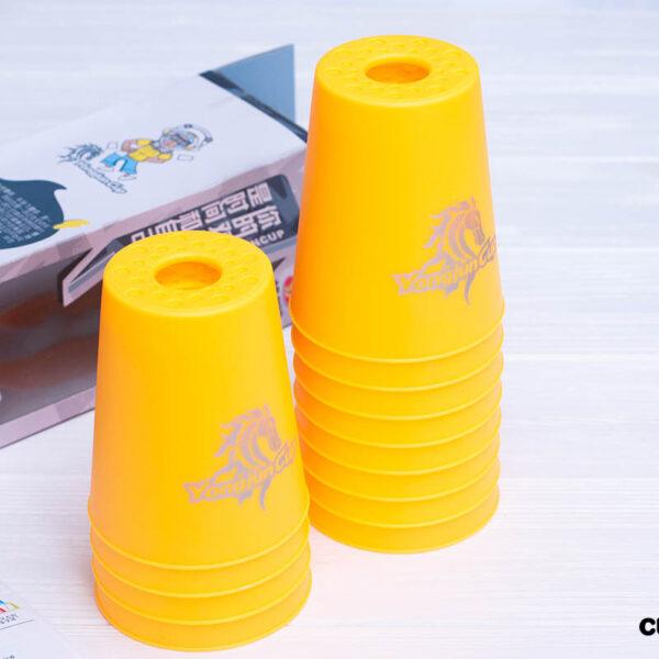 Стаканчики для капстекинга (желтые)