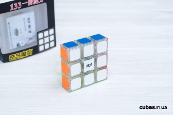 Кубик QiYi 1х3х3 прозрачный пластик