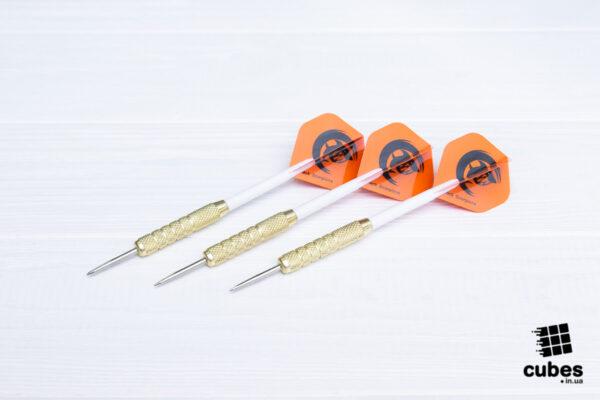 Дротики для дартс «Orange Shark» (металл+пластик) 3 шт.