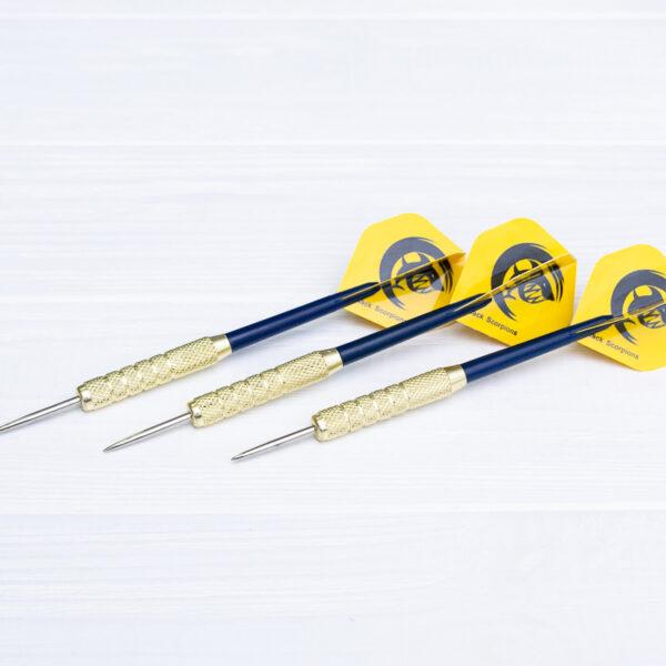 Дротики для дартс «Yellow Shark» (металл+пластик) 3 шт.