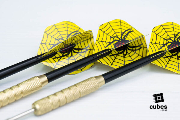 Дротики «Spider» (металл+пластик)
