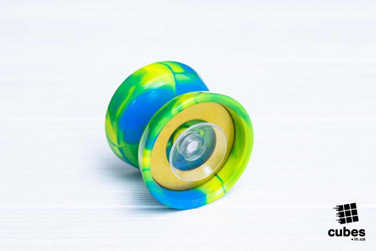 Йо-йо MoYu цветной пластик (+нитка в подарок)